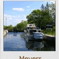 Photo taken at Trent-Severn Waterway Lock 09 - Meyers by Ed A. on 12/11/2011