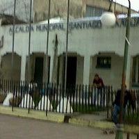 Photo taken at Alcaldía Municipal de Santiago Texacuango by Juan Ramon O. on 6/19/2012