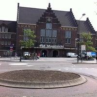 Photo taken at Maastricht Railway Station by Richard W. on 5/6/2011