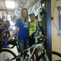 Photo taken at Rochester Bike Shop by Michele B. on 8/20/2011