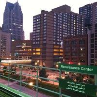 Photo taken at DPM - Renaissance Center Station by Alex G. on 9/5/2011