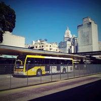 Photo taken at Terminal Parque Dom Pedro II by Massao U. on 2/29/2012
