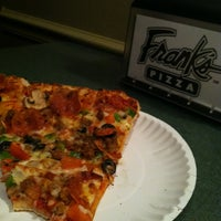 Photo taken at Frank's Pizza by Jacob H. on 10/23/2011