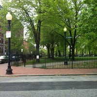 Photo taken at Franklin Square Park by Davey T. on 4/25/2012