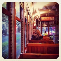 Photo taken at St. Charles Streetcar by Benjamin A. on 3/12/2012