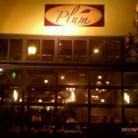 Photo taken at Plum Bistro by Anil D. on 10/11/2011