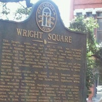 Photo taken at Wright Square by Debra S. on 11/17/2011