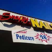Photo taken at Snappy Nails by Anthony A. on 11/22/2011