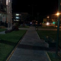 Photo taken at Plaza Brasil by Cristian Miguel R. on 8/27/2012