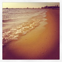Photo taken at St Kilda Beach by Andrew H. on 10/14/2011