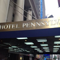 Photo taken at Hotel Pennsylvania by Simeon P. on 6/29/2012