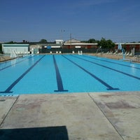 Photo taken at Garfield park pool by Alex H. on 6/14/2012