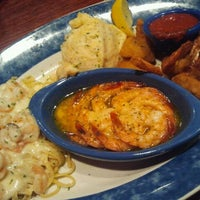 Photo taken at Red Lobster by Krystal B. on 4/1/2012
