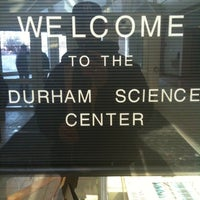 Photo taken at Durham Science Center by Chad C. on 3/1/2011