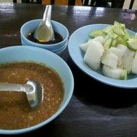 Photo taken at Sate Kajang Haji Samuri by Aimi M. on 12/11/2011