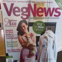 Photo taken at VegNews Magazine by Florian R. on 9/3/2011