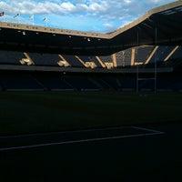 Foto tirada no(a) Murrayfield Stadium por Scott L. em 8/17/2012