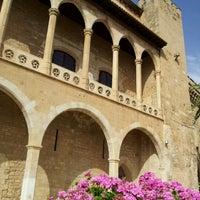 Photo taken at Palacio Real de La Almudaina by Lorena S. on 7/26/2012