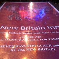 Photo taken at New Britain Inn by Liora K. on 2/16/2012