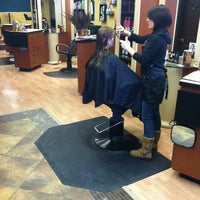 Photo taken at Bucci Salon by Trever H. on 3/5/2011