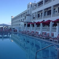 Photo taken at The Oyster Box Hotel by Christos K. on 7/18/2012