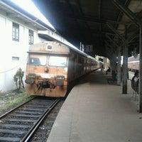Photo taken at Maradana Railway Station by Lahiru N. on 11/8/2011