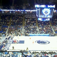 Photo taken at Bryce Jordan Center by Thomas L. on 1/8/2012
