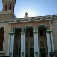 Photo taken at Masjid Agung Al-Makmur by Syed D. on 4/23/2012