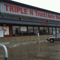 Photo taken at Triple H Truck Stop by John M. on 10/9/2011