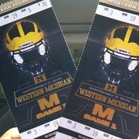 Photo taken at Michigan Stadium by Calvin W. on 9/3/2011