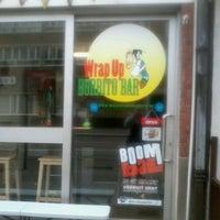Photo taken at Wrap Up Burritobar by Van K. on 3/6/2012