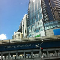 Photo taken at Asok Intersection by NuYui on 8/24/2011