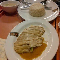 Photo taken at Singapore Chicken Rice by Eveline F. on 6/3/2012