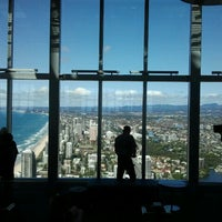 Photo taken at SkyPoint Observation Deck by Wendy C. on 8/28/2011