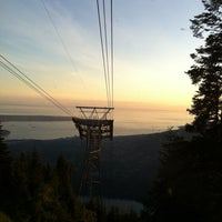 Photo taken at Grouse Gondola by C M. on 8/19/2011