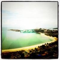 Photo taken at Praia do Canto by Gil G. on 7/23/2011