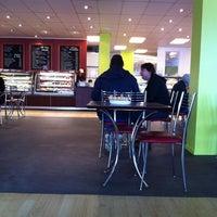 Photo taken at Mr Bun Cafe by Barbara on 8/10/2011
