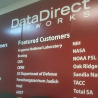 Photo taken at DataDirect Networks Technology Center by Sean H. on 1/13/2012