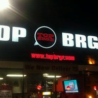Photo taken at TOP BRGR by Michael K. on 12/10/2011