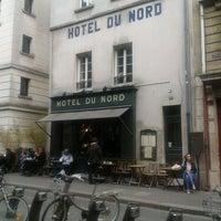 Photo taken at Hôtel du Nord by Toto on 5/8/2012