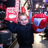 Photo taken at Hockeytown Authentics by Julie F. on 2/9/2012