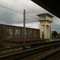 Photo taken at Station Amsterdam Muiderpoort by Mariana W. on 8/3/2012