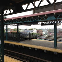 Photo taken at MTA Subway - Junction Blvd (7) by Darius S. on 7/16/2012