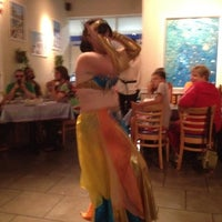 Photo taken at Mykonos Taverna by Greg B. on 8/26/2012