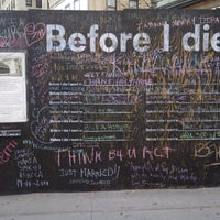 Photo taken at Before I Die by Alex Poppinton on 11/14/2011