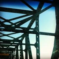 Photo taken at Maurice J. Tobin Memorial Bridge by Sean L. on 8/26/2012