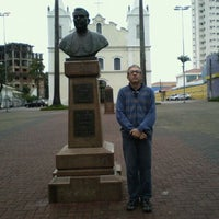 Photo taken at Busto de Dom José de Camargo Barros by Gentil F. on 6/8/2012