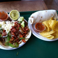 Photo taken at Taqueria La Hacienda by Amy S. on 12/21/2011