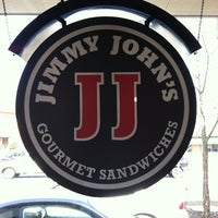 Photo taken at Jimmy John's by Brandon B. on 3/24/2011