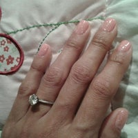 Photo taken at nc nails by Meeshi L. on 1/31/2012